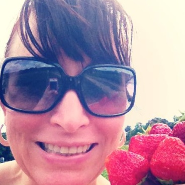 Strawberry picking!